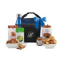 755679823-112 - Spirited Gourmet Lunch Break Cooler with Geyser Bottle Gift Set Blue - thumbnail