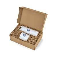 906078246-112 - MiiR® Wide Mouth Bottle & Camp Cup Gift Set - White Powder - thumbnail