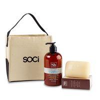 946256520-112 - Soapbox® Cleanse & Revive Gift Set - Natural-Sea Minerals & Blue Iris - thumbnail