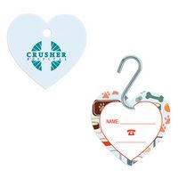 105472567-138 - GoodValue® Small Heart Pet ID Tag - thumbnail