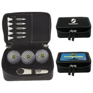 116516988-138 - Titleist® Zippered Golf Gift Kit w/Pro V1® Balls - thumbnail
