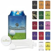 125471210-138 - KOOZIE® Collapsible Deluxe Golf Event Kit w/Wilson® DT Trusoft™ Golf Ball - thumbnail