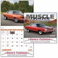 125471319-138 - Good Value® Muscle Thunder Calendar (Stapled) - thumbnail