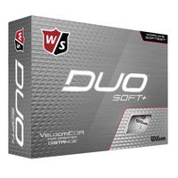 126290643-138 - Wilson® Duo Soft Plus Std Serv Golf Balls - thumbnail
