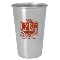 135472572-138 - 16 Oz. Good Value® Stainless Pint Glass - Silver - thumbnail