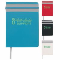 145530150-138 - Good Value® Elastic Stripe Journal - thumbnail