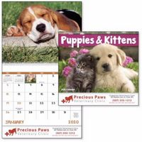 195471304-138 - Good Value® Puppies & Kittens Calendar (Spiral) - thumbnail