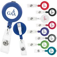 305470689-138 - Good Value® Promo Retractable Badge Holder w/Alligator Clip - thumbnail