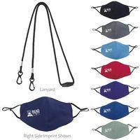 336489404-138 - Good Value® Comfy Youth Face Mask & Lanyard Kit - thumbnail