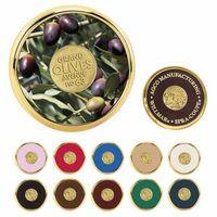 345470169-138 - Jaffa® Round Brass Coaster - thumbnail
