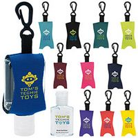 355472817-138 - 0.5 Oz. Good Value® Custom Label Hand Sanitizer w/Leash - thumbnail