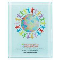 "375471560-138 - 8""x10"" Jaffa® Radiant Trillinnium Award Plaque - thumbnail"