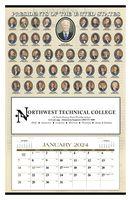 385470748-138 - Triumph® Presidents 12-Month Hanger Calendar - thumbnail