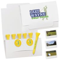 395470416-138 - BIC Graphic® 6 Golf Tee Packet w/2 Ball Markers - thumbnail