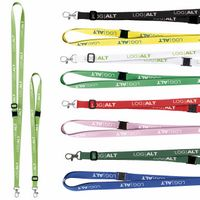 "525988092-138 - 5/8"" Universal Source™ Adjustable Polyester Lanyard - thumbnail"