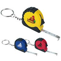 545472840-138 - Good Value® Mini Tape Measure Keychain - thumbnail