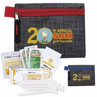 546071394-138 - GoodValue® Golf First Aid Kit w/Printed Non-Woven Pouch - thumbnail
