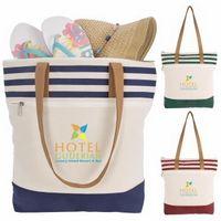 565472989-138 - Atchison® Cora Lane Cotton Tote Bag - thumbnail