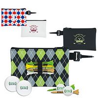 575472855-138 - Titleist® Pattern Golf Pouch Event Golf Kit w/DT TruSoft™ Golf Balls - thumbnail