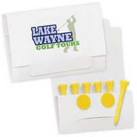 """585471439-138 - BIC Graphic® 6-2 Golf Tee Packet - Value Pak w/2 1/8"""" Tees - thumbnail"""