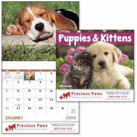 595471305-138 - Good Value® Puppies & Kittens Calendar (Stapled) - thumbnail