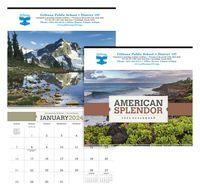 715470858-138 - Triumph® American Splendor Executive Calendar - thumbnail