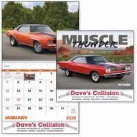 725471318-138 - Good Value® Muscle Thunder Calendar (Spiral) - thumbnail