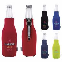 735970249-138 - KOOZIE® Zip-Up Bottle Kooler w/Opener (Heat Transfer) - thumbnail