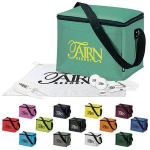 746516992-138 - Koozie® 6 Pack Kooler Golf Event Kit w/Titleist® Pro V1® Balls - thumbnail
