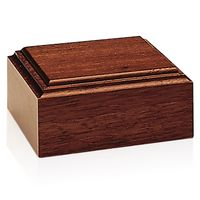755470135-138 - Jaffa® Mahogany-Tone Wood Base - thumbnail