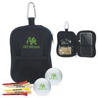 755472615-138 - Wilson® Valuables Pouch Golf Kit w/Ultra 500 Golf Balls - thumbnail