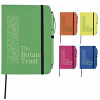 765707904-138 - Good Value® Neon Journal w/Neon Stylus Highlighter Pen - thumbnail