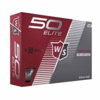 795929071-138 - Wilson® 50 Elite Golf Ball Std Serv - thumbnail