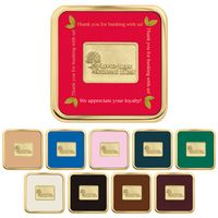 905470183-138 - Jaffa® Brass Square Coaster - thumbnail