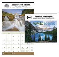 "905470881-138 - Triumph® World Scenic Calendar (14""x23"") - thumbnail"