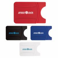 905526717-138 - Good Value® Silicone Phone Wallet w/Finger Grip - thumbnail
