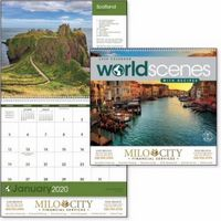 945470767-138 - Triumph® World Scenes w/Recipes Appointment Calendar - thumbnail