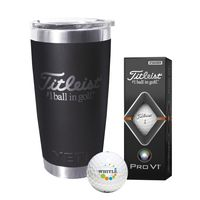 956290655-138 - Titleist® Yeti® Tumbler w/Pro V1® Golf Ball - thumbnail