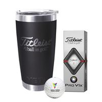 986290665-138 - Titleist® Yeti Tumbler w/Pro V1x® Golf Ball - thumbnail