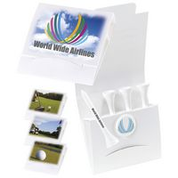 "995470410-138 - BIC Graphic® 4-1 Golf Tee Packet w/Ball Marker & 2 3/4"" Tees - thumbnail"