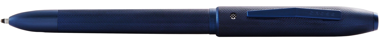 106442861-126 - TECH4+™ Textured Blue PVD w/ Machine-turned, Diamond-pattern Engravings Multifunctional Pen/Pencil - thumbnail