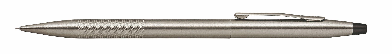 946442848-126 - Classic Century Titanium Gray PVD 0.7mm Pencil with Micro-knurl Detail - thumbnail