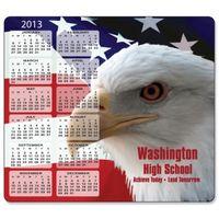 123628222-183 - Stock Art Background Hard Surface Calendar Mouse Pads - Patriotic Eagle - thumbnail