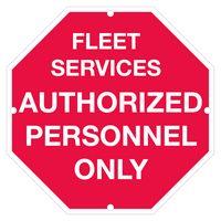 "133438216-183 - Polyethylene Octagon/ Stop Sign Security Yard Sign (0.055"" Thick) - thumbnail"