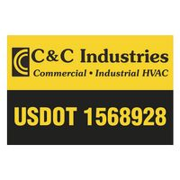 """145932398-183 - Rectangle w/ Square Corners Truck Signs & Equipment Decal (12 1/4""""x18 1/2"""") - thumbnail"""