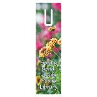 "162536138-183 - Full Color Rectangle Vinyl Plastic Bookmark w/ Slot (0.02"" Thick) - thumbnail"