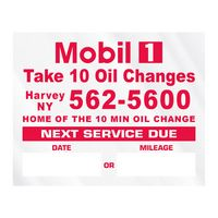 """315543310-183 - Individual Clear Static Cling Decals for Car Windshield (2""""x2 1/2"""") - thumbnail"""