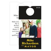 "32564585-183 - Door Hanger w/ Top Slit (3 1/2""x6 3/4"") Full Color White 10 Pt Card Stock - thumbnail"