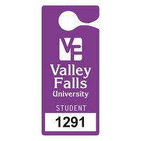 """325932455-183 - Plastic 10 pt. Numbered Hanging Parking Permit (3""""x6 3/4"""") - thumbnail"""
