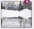 353729819-183 - Stock Art Background Hard Surface Calendar Mouse Pads - Winter Lake - thumbnail